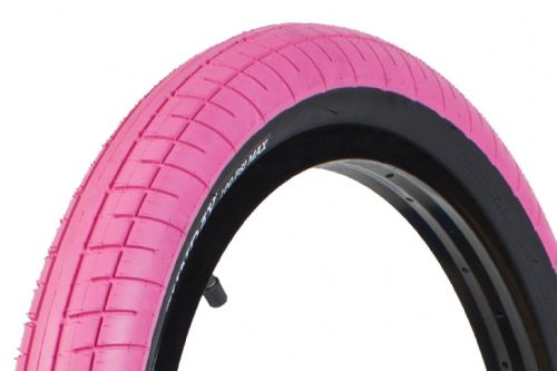 "Sunday Street Sweeper Tyres - 20"" x 2.40"" - Hot Pink"